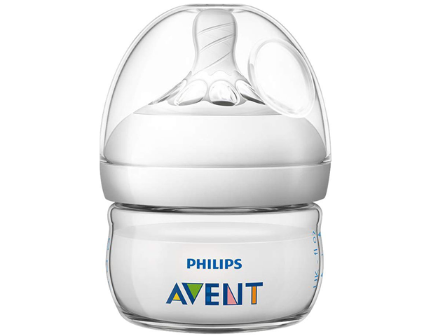 Avent Natural Feeding Bottle, 0m+ 60ml