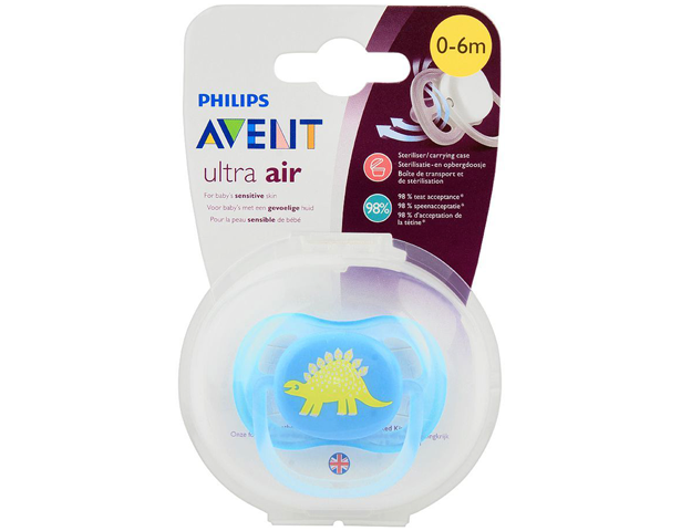 Avent Ultra Air Sensitive Skin Soother 0-6m