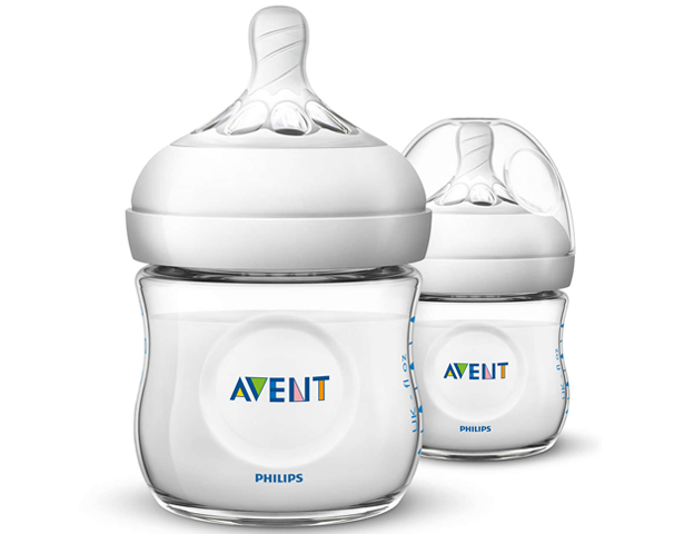 Avent Natural 2 PP 125ml Feeding Bottle PK2