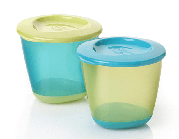 TOMMEE TIPPEE POP UP WEANING POTS PK OF 2