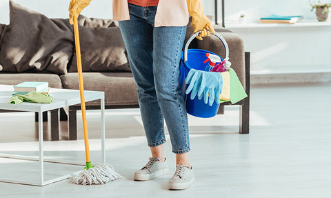 How to Disinfect Areas Your Pet Touches