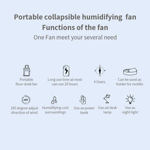Load image into Gallery viewer, Multifunction Portable Fan