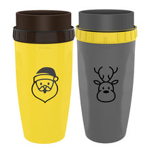 Load image into Gallery viewer, Leak-proof Travel Mug with Unique Twist lid (FREE BPA Free Reusable Straw)