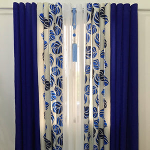 5 in 1  Cotton Ring Curtains WITH FREE TASSEL