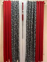 Load image into Gallery viewer, 5 in 1  Cotton Ring Curtains WITH FREE TASSEL
