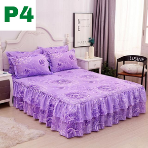 Premium Bedskirts with Pillowcases