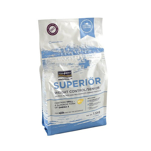 Superior Fish4Dogs Adult Weight Control
