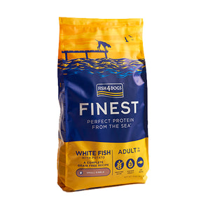 Finest Fish4Dogs Ocean White Fish - Croqueta Pequeña