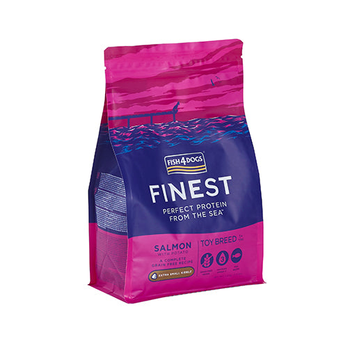 Finest Fish4Dogs Salmon Complete Toy - Croqueta Extra Pequeña