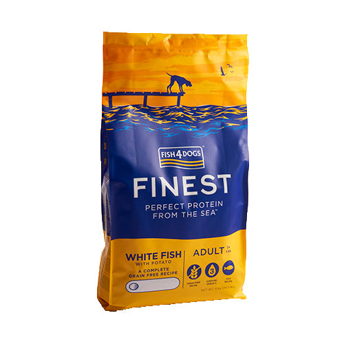Finest Fish4Dogs Ocean White Fish - Croqueta Regular