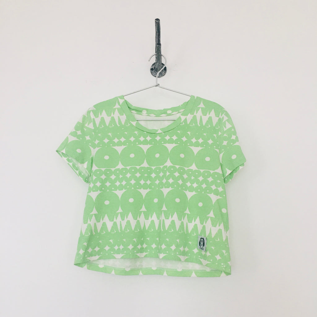 SAMPLE: The Standard Organic Cotton Cropped Tee