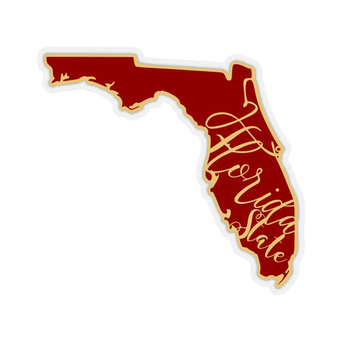 Florida State Seminole Inspired Sticker Decals Indoor or Outdoor Use