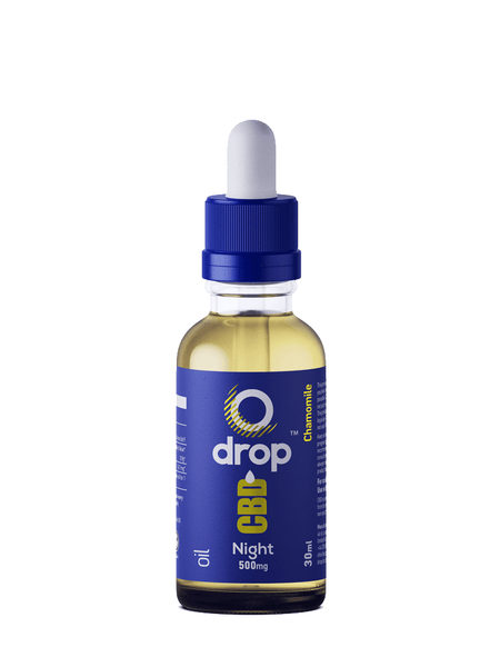 CBD Oil 500mg for Night-time Use - 30ml bottle - dropcbd