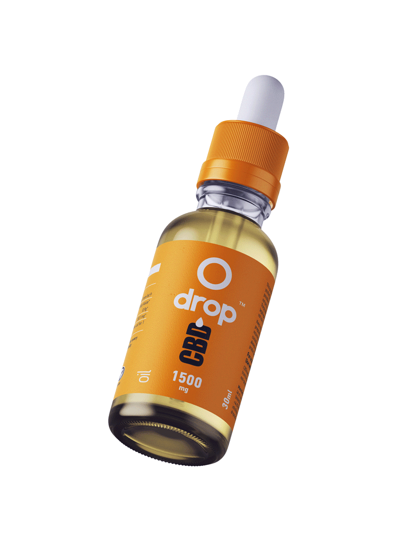 Drop CBD Oil Regular - 30ml bottle - dropcbd
