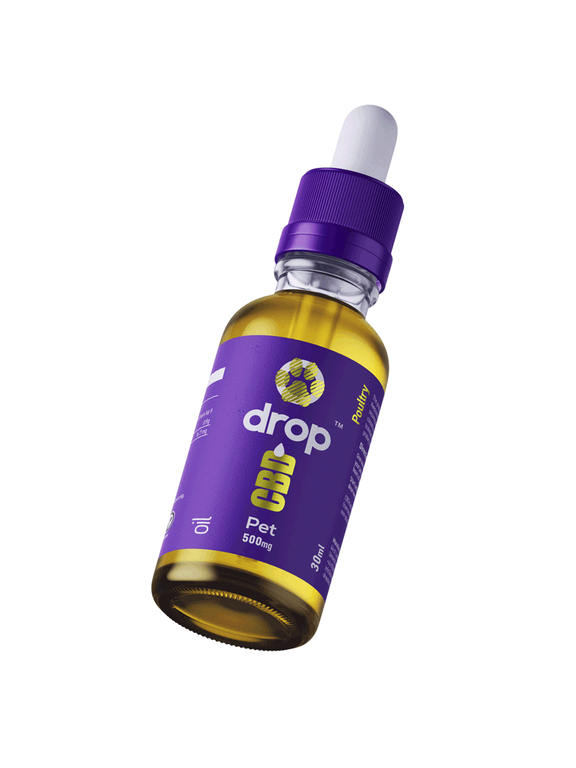 CBD Oil for Pets - 30ml bottle - DropCBD
