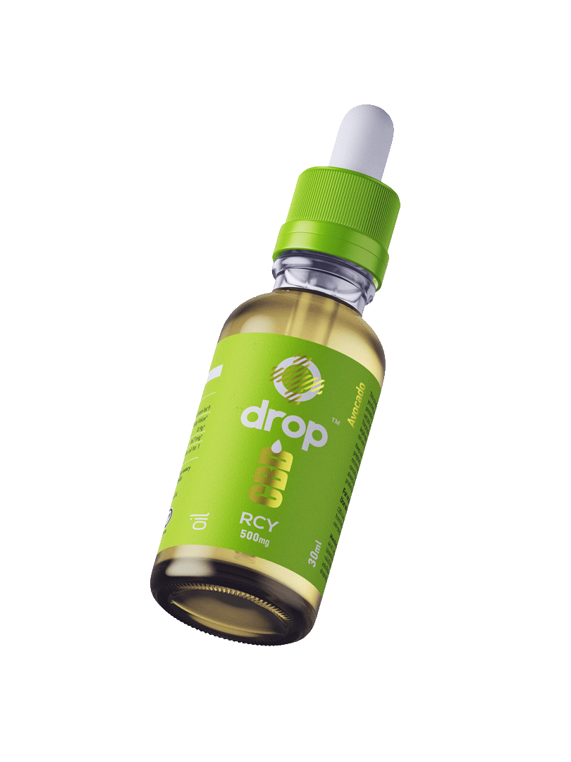 500mg Recovery CBD Oil, enriched with avocado oil