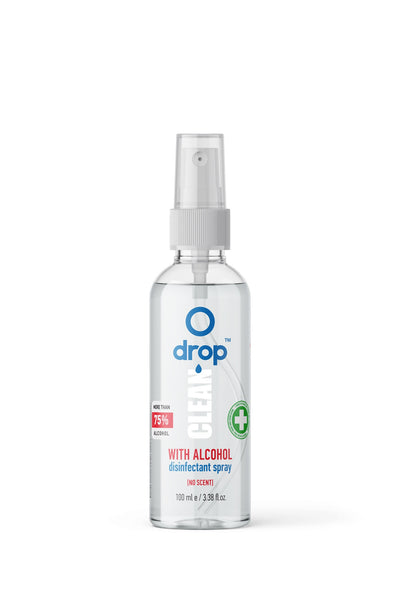 Drop Clean Alcoholic Disinfection Spray 100ml - dropcbd