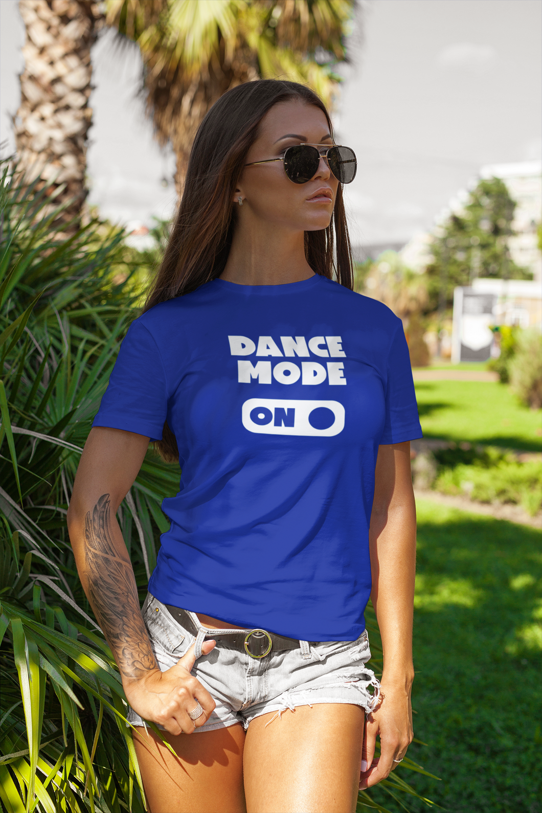 'Dance mode on' shirt voor volwassenen