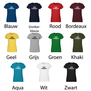 'Dance to the music' shirt voor volwassenen