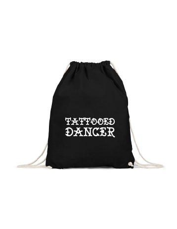 'Tattooed dancer' rugzak