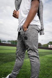 Tech Panel Tracksuit Marl Grey