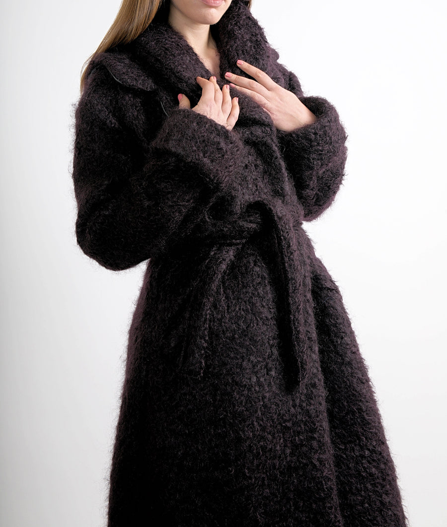 Belted Shearing Coat