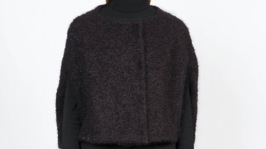 Short Woolen Cape