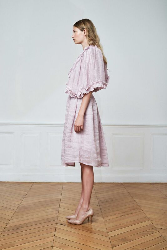 Detailed Dress With Ruffles