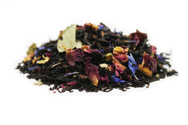 Black Currant and Rose Flavored Black Tea