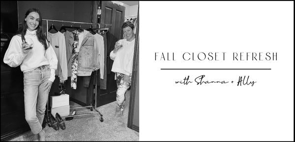 Fall Closet Refresh