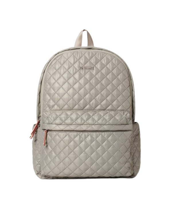 MZ WALLACE DELUXE METRO BACKPACK IN GRAPHITE