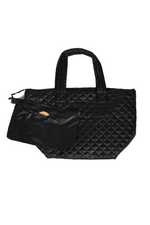 Load image into Gallery viewer, MZ WALLACE METRO MEDIUM TOTE IN BLACK