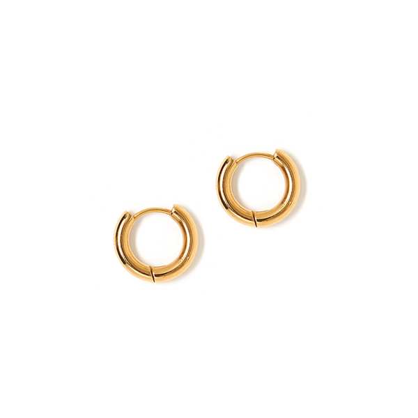 TESS + TRICIA ESTELLE SMALL HOOP EARRING