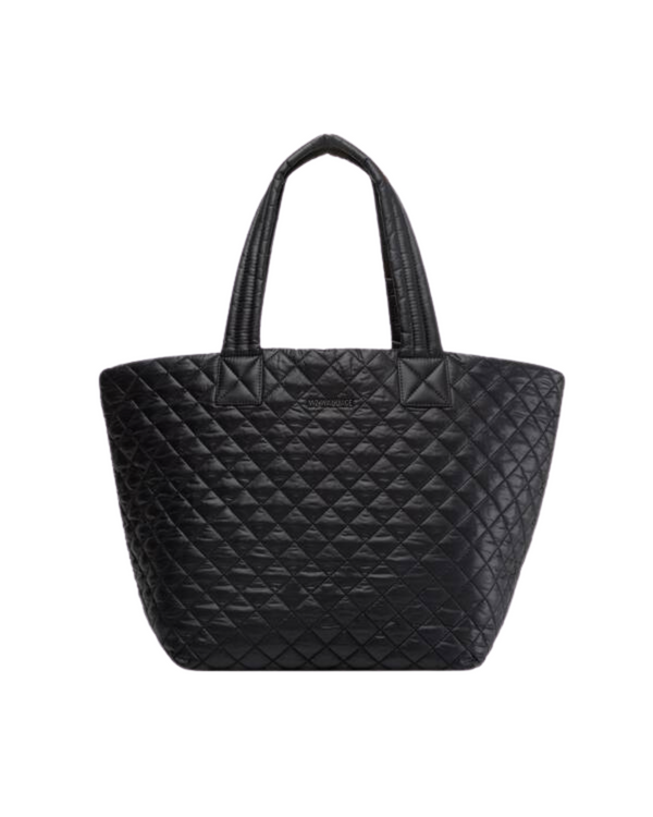MZ WALLACE METRO MEDIUM TOTE IN BLACK