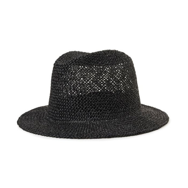 BRIXTON DUNNS FEDORA IN BLACK