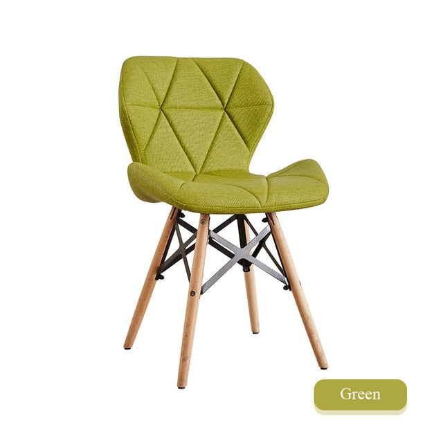 INS Nordic Dining Chair Modern Iron Chair