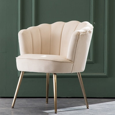 CROWN Royal Velvet Single Sofa Chair