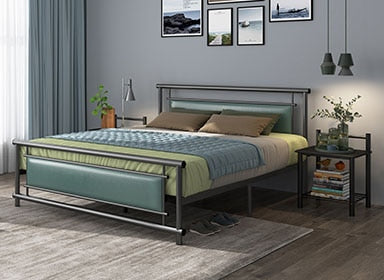 RAMA DYMASTY Metal Bed Frame