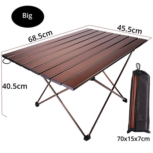 Lightweight Portable Folding Table For Camping