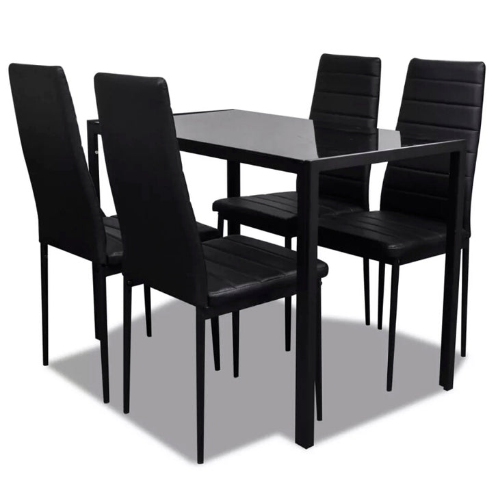 VidaXL 5pcs Dining Room Set Modern Design High Quality
