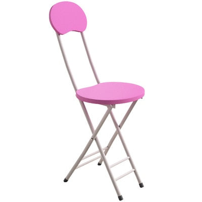 NEW Multicolor Simple Folding Chair Home Dining Set