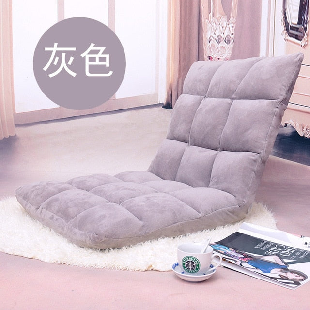 Modern Living Room Lazy Sofa Couch Floor Gaming Sofa Chair