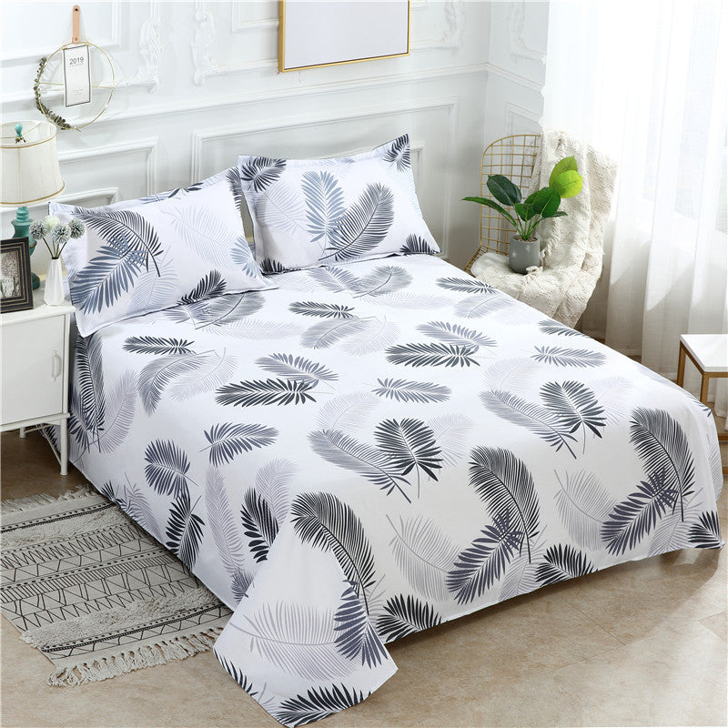 Quilt Sets 3 Pcs Bed Se:t 1 Quilt Cover + 2 Pillowcases