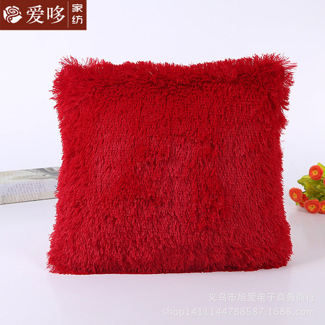 FLUFFY 43*43cm Cushion Case