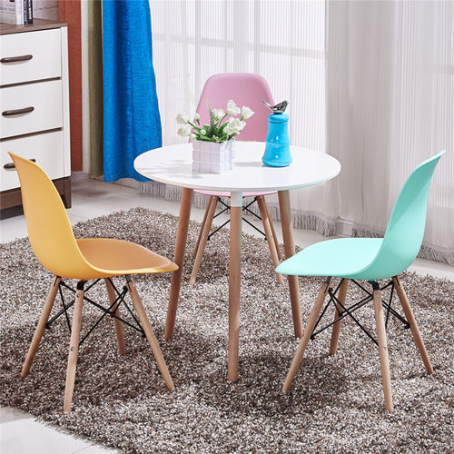 IMUS Nordic Dining Table and Chair Combination Solid Wood