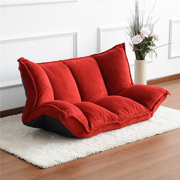 Floor Furniture Reclining Futon Sofa Bed