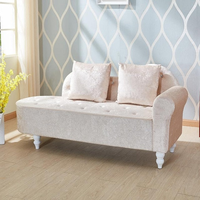 Beauty Chaise Sofa Tatami Style with European Fabric