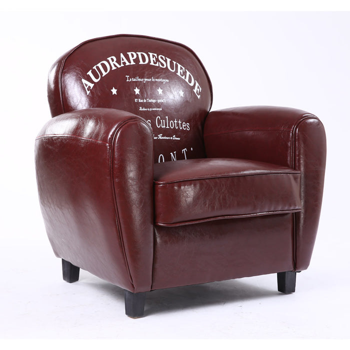 European-Style Retro Sofa American-style Single Person Chair
