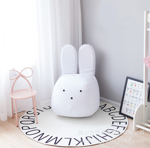 Lazy Sofa, Korean Cartoon, Rabbit Sofa