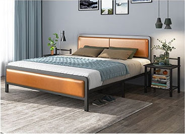 RAMA Metal Bed Iron Bed Frame